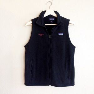 Patagonia black vest zip up better sweater
